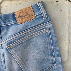 Vintage Plain Pockets Jeans